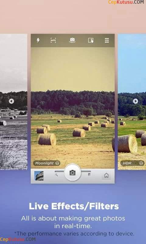 Android Camera360 Ultimate apk indir (Fotograf ve Kamera Efekt