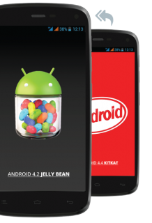 General Mobile Discovery Kitkat'dan 4.2 Jelly Bean'e Dönüş