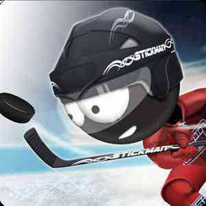 Stickman Ice Hockey (Çöp Adam Hokey Oyunu)