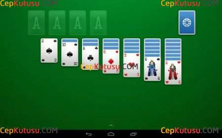Solitaire 1.3.2 Son versiyon apk indir (Android Solitaire kart oyunu)